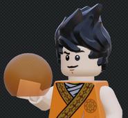 Son Goku with the dragon ball