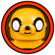 Jake the Dog Character Icon