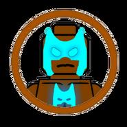 Shadow Man Character Icon