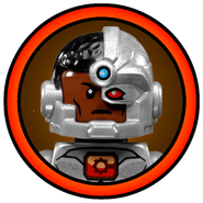 Cyborg Character Icon