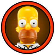 Homer Simpson Character Icon