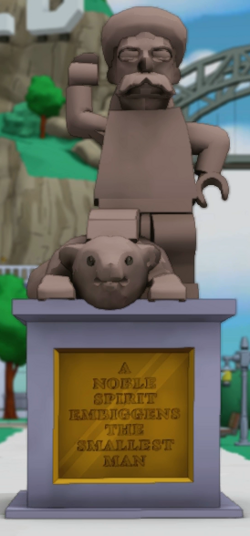 Jebediah Springfield Statue.png