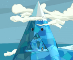 LEGO Dimensions Adventure Time Location Ice King's Castle.png