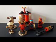 Lego Ninjago Legacy Set 70680 Ninja Tempeltraining Unboxing und Review