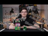 Review Lego 71716 Avatar Lloyd Arcade Kapsel - kann man die Arcade-Box in einen Blumenladen umbauen?