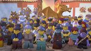 Beerdigung Gruppenbild
