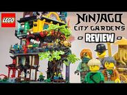 LEGO Ninjago City Gardens (71741) Set Review - My New FAVOURITE Set