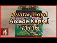 Lego® Ninjago® Avatar Lloyd - Arcade Kapsel 71716 Unboxing,Review und Fazit in deutsch-german