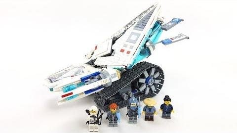 The LEGO Ninjago Movie Set 70616 - Zane's Eis-Raupe Unboxing & Review deutsch