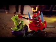 LEGO 9562 Lasha - LEGO 9563 Kendo Zane - LEGO 9564 Snappa - LEGO 9566 Samurai X - LEGO Ninjago