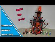 ZWISCHEN AUGENKREBS UND ARCADE MACHINES - LEGO® Ninjago Tempel des Unsinns Review - 71712 (deutsch)