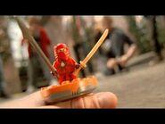 """LEGO NinjaGo """"Kai vs Bonezai"""" commercial"""