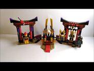 Lego Ninjago Duell im Thronsaal 70651 Review Deutsch