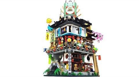 The LEGO Ninjago Movie Set 70620 - Ninjago City Unboxing & Review deutsch