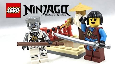 LEGO Ninjago Dummy Training review! 2017 polybag 30425!