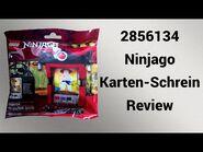 Hübsche Dekoration - 2856134 Ninjago Karten-Schrein Review - Steinfreund2014