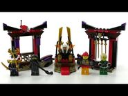 LEGO Ninjago Set 70651 - Duell im Thronsaal - Review deutsch