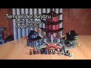 Review LEGO Temple of Airjitzu (70751 Ninjago) - Klemmbausteinlyrik-Test deutsch