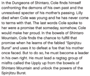 Coles Storyline