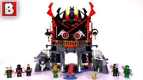 LEGO Ninjago 70643 Temple of Resurrection! Unbox Build Time Lapse Review