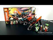 Lego Ninjago 71713 Schwarzer Tempeldrache Unboxing & Review-LegoBuilder