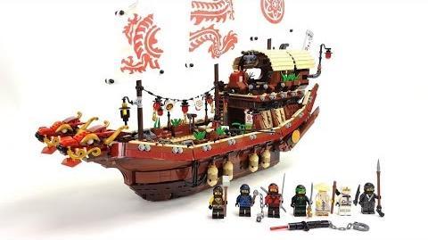 The LEGO Ninjago Movie Set 70618 - Ninja-Flugsegler Unboxing & Review deutsch