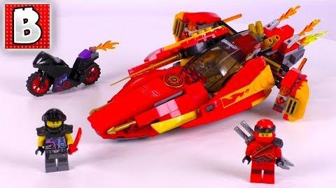 LEGO Ninjago 70638 Katana V11! Unbox Build Time Lapse Review