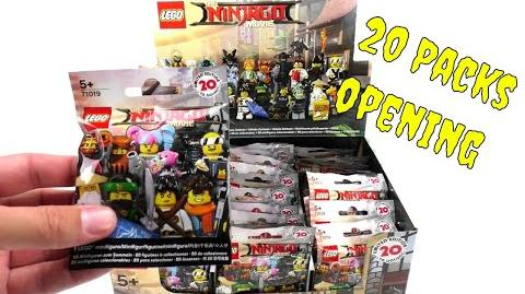 Lego 71019 The LEGO Ninjago Movie Minifiguren - 20 Pack Opening - deutsch review