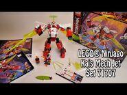 Ninjago 2-in-1- Kais Mech Jet (Set 71707) Review deutsch