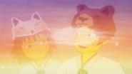 Kataru und Akita verwandeln sich