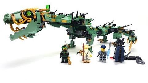 The LEGO Ninjago Movie Set 70612 - Mech-Drache des Grünen Ninja Unboxing & Review deutsch