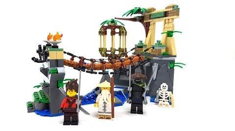 The LEGO Ninjago Movie Set 70608 - Meister Wu's Wasser-Fall Unboxing & Review deutsch