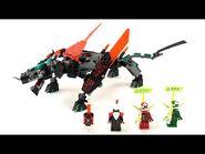 LEGO Ninjago 2020 Set 71713 - Schwarzer Tempeldrache - Unboxing & Review deutsch