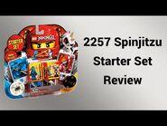 2257 Spinjitzu Starter Set Review -deutsch- - Steinfreund2014