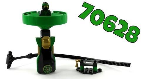 The LEGO Ninjago Movie Set 70628 - Spinjitzu-Meister Lloyd Unboxing & Review deutsch