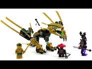 LEGO Ninjago Legacy Set 70666 - Goldener Drache 2019 - Unboxing & Review