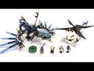 LEGO Ninjago Retro Review zum Set 2521 Drache des Blitzes