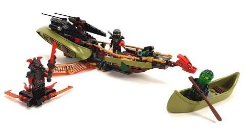 LEGO Ninjago Set 70623 Schatten des Ninja-Flugseglers Unboxing & Review deutsch