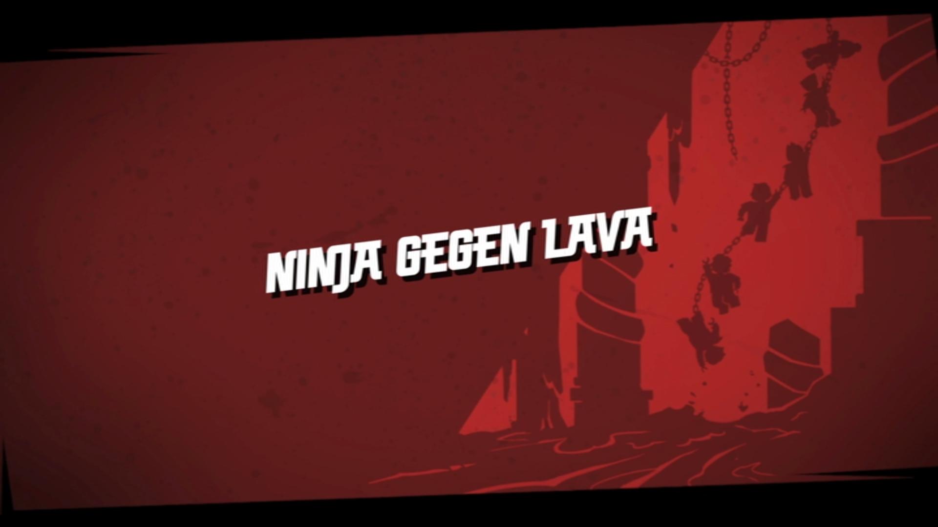 Ninja gegen Lava   Lego Ninjago Wiki