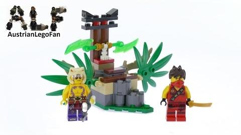 Lego Ninjago 70752 Jungle Trap - Lego Speed Build Review