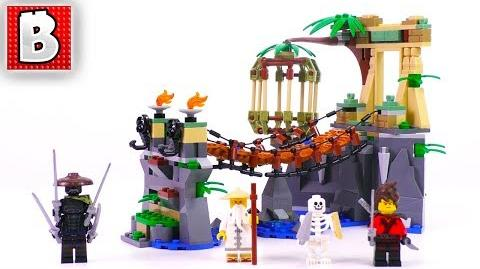 LEGO Ninjago Movie Master Falls 70608! Unbox Build Time Lapse Review