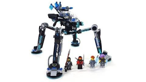 The LEGO Ninjago Movie Set 70611 - Nya's Wasser-Walker Unboxing & Review deutsch