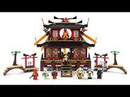 LEGO Ninjago Set 2507 - Ninja Feuertempel - Review deutsch