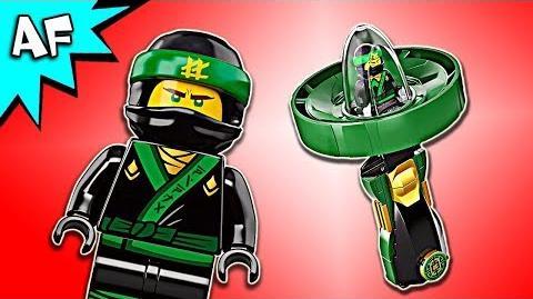 Lego Ninjago Movie LLOYD SPINJITZU Master 70628 Speed Build