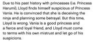 Lloyds Storyline