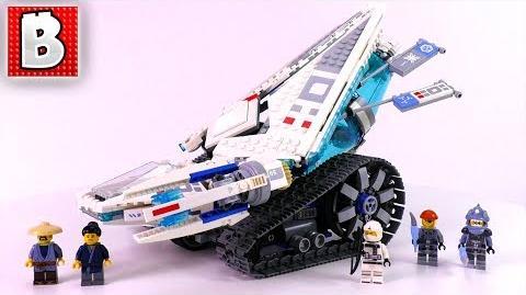 LEGO Ninjago Movie Ice Tank Set 70616 Unbox Build Time Lapse Review