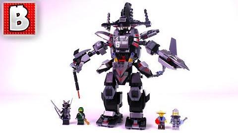 LEGO Ninjago Movie Garma Mecha Man 70613! Unbox Build Time Lapse Review