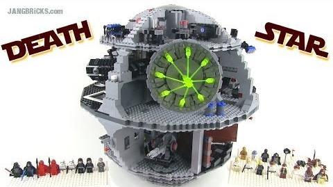LEGO Star Wars 10188 DEATH STAR reviewed! 3800 pieces, 11 lbs.!