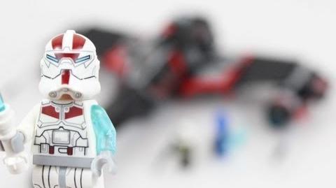 LEGO Star Wars Jek-14's Stealth Starfighter Review 75018