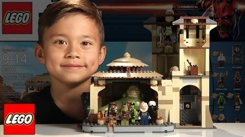 JABBA'S_PALACE_Lego_Star_Wars_Set_9516_-_Time-lapse_Build,_Unboxing_&_Review_in_1080p_HD